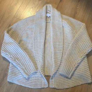 Cozy oversized shawl neck cardigan size M by John + Jenn
